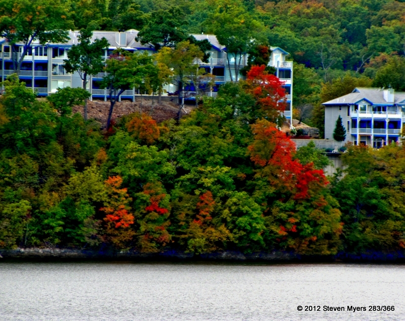 283/366 Fall Color at the Lake of the Ozarks