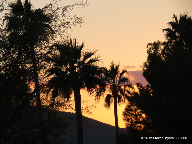 359/366 Christmas Eve Sunset