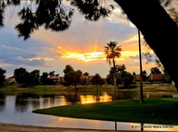 028/365 Golf Course Water Hazard
