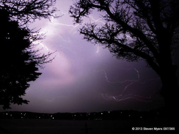 097/365 Lightning at the Lake
