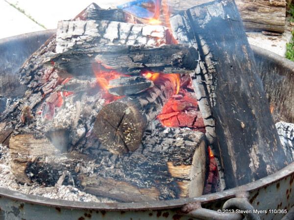 110/365 Campfire