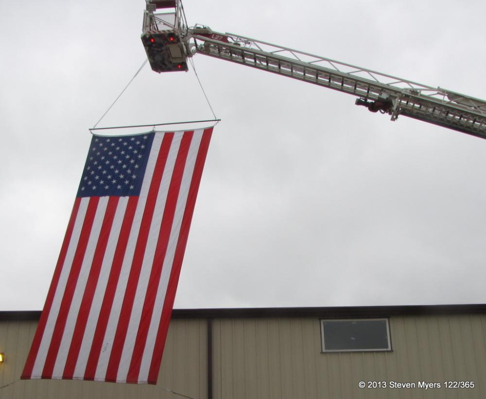 122/365 Flag Flying on National Day of Prayer