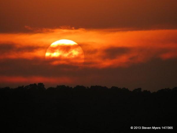 147/365 Sunset