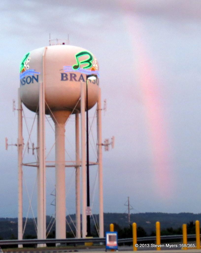 168/365 Branson Rainbow