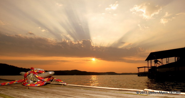 187/365 Dock Sunset