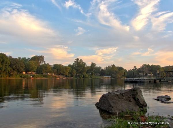 254/365 Sunset at Lake Taneycomo
