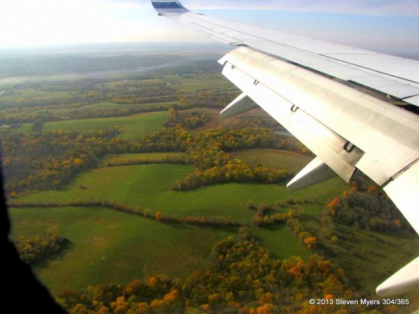 304/365 Fall Foliage Landing