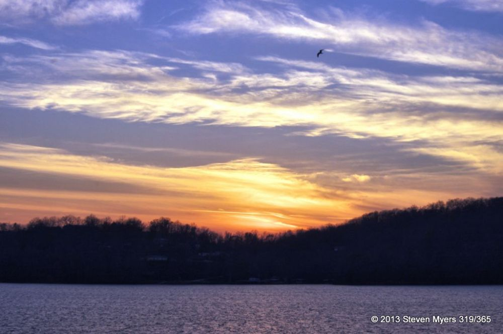 319/365 Sunset Loner