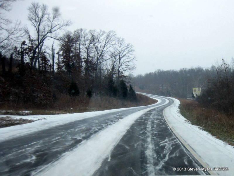 342/365 Snowy Road Trip