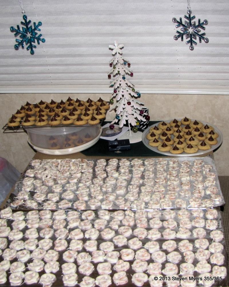 355/365 Christmas Treat Workshop