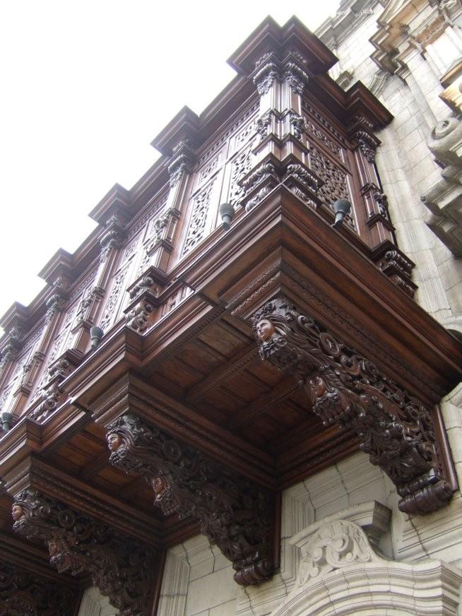 Balcony in Lima, Peru