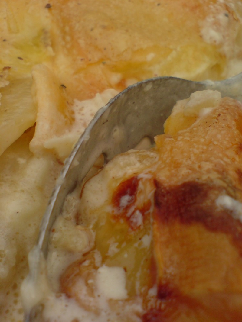 Mmmmm. Cheese and Potato pie