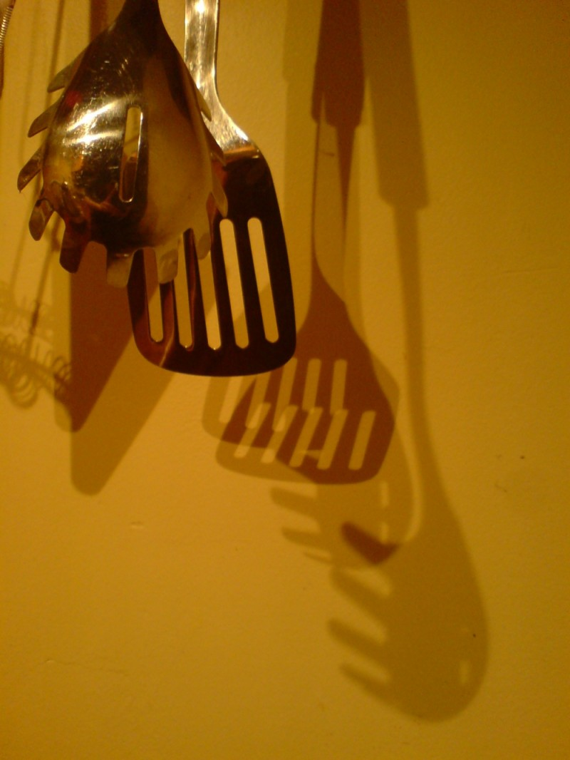 Kitchen utensils and their alteregos