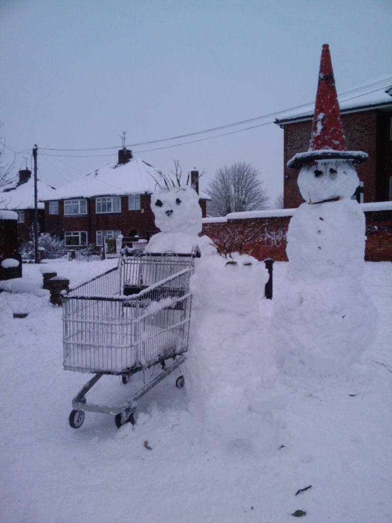 The Snowman Family