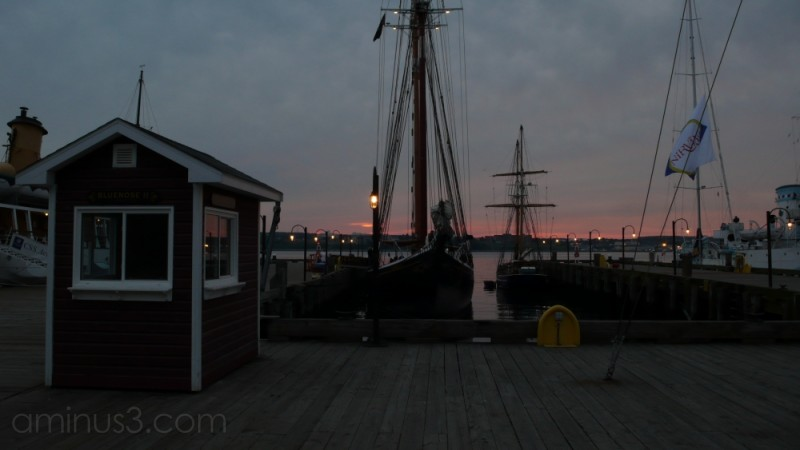 Tall Ships at Sunrise
