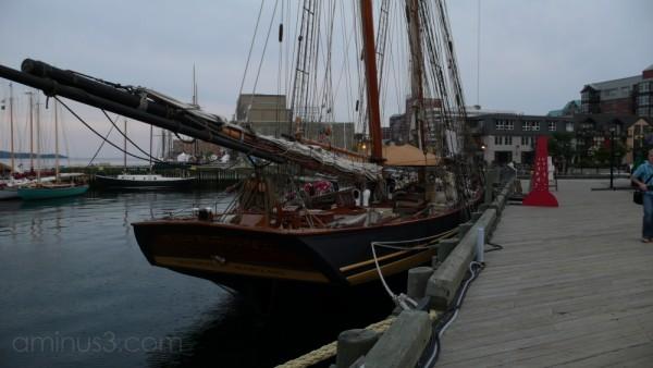 Tall Ships at Dock Waiting