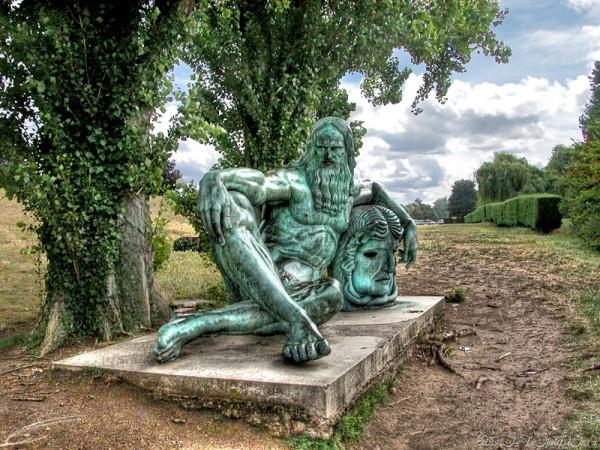 Persée ayant triomphé de la Gorgone Méduse