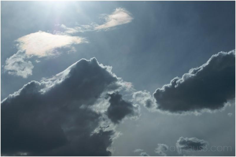 spring clouds