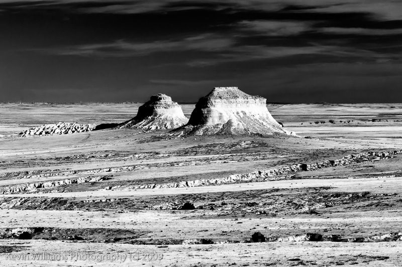 pawnee buttes in infrared