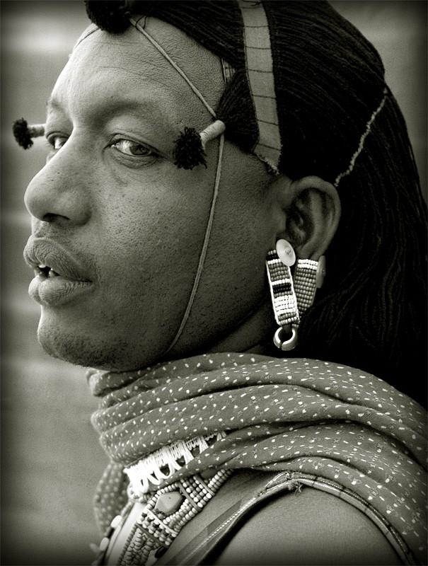 Kisirian Masai Warrior