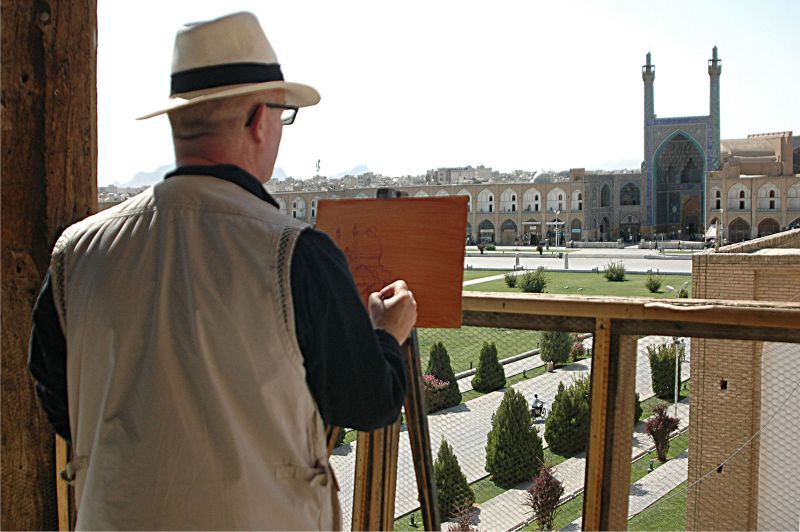 ISFAHAN- THE QUIET PAINTER
