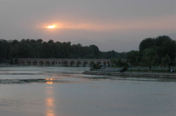 ISFAHAN-SUNSET