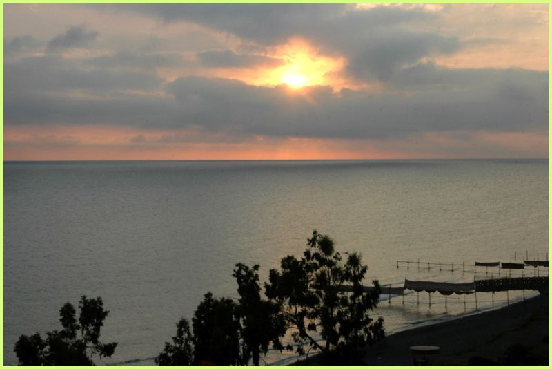 CASPIAN SEA-SUNRISE