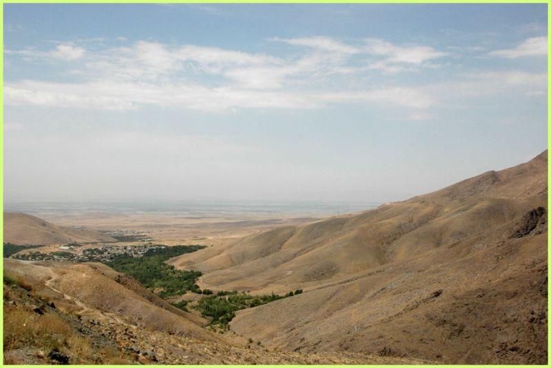 THE ALBORZ MOUNTAINS- OVERLOOKING QAZVIN