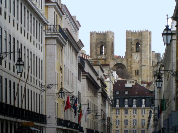 LISBON-THE OLD CATHEDRAL