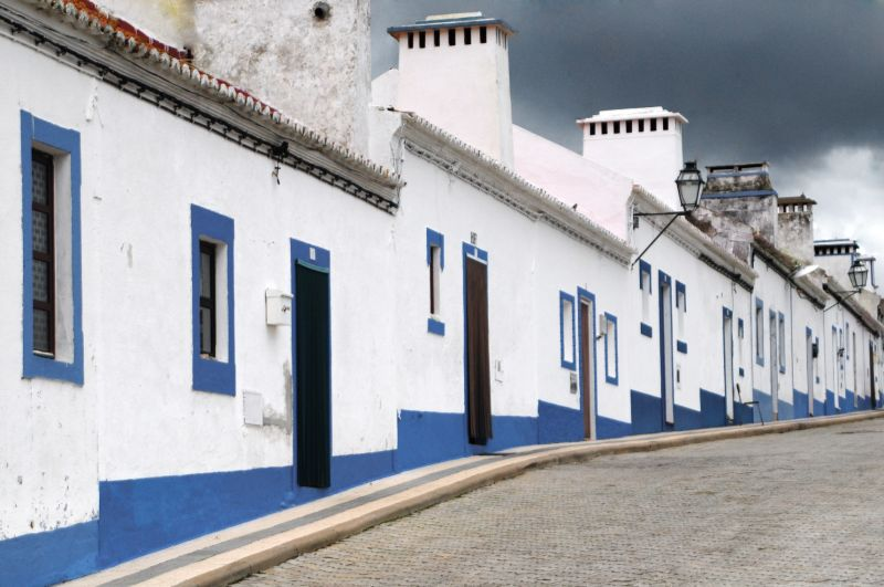 VILLAGE  HOUSING IN ALENTEJO (PORTUGAL)