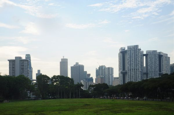 SINGAPORE- A CITY GREEN AT DOWN