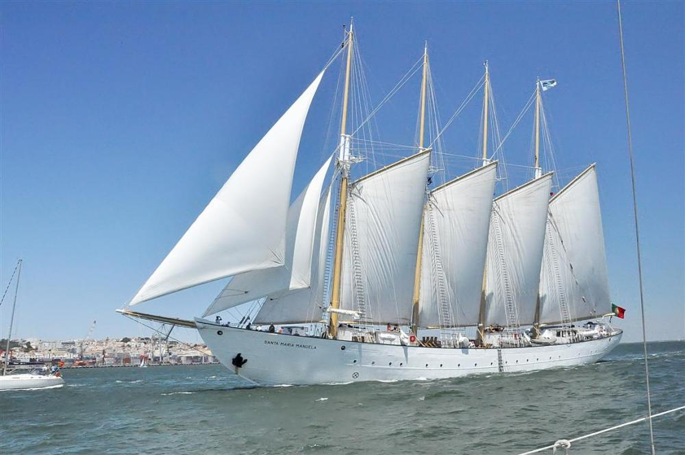 A LOVELY PORTUGUESE TALL SHIP
