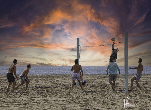Venice Beach Volleyball