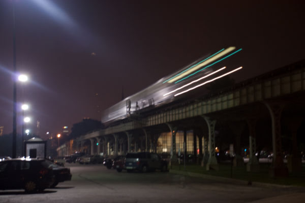 Chicago,Green Line Chicago,Metra,Night Photography