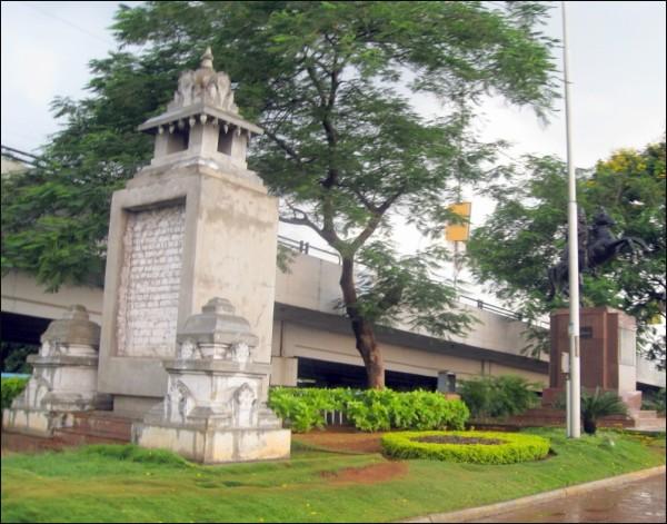 Tank Bund, Roads, Statue, Hyderabad, City, Hussain
