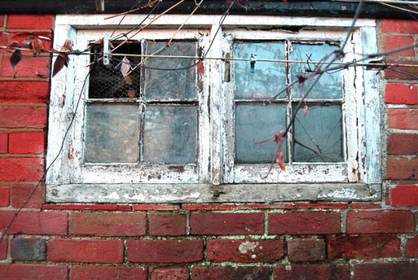 window with few details