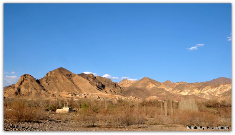 نمایی از روستای نمهیل