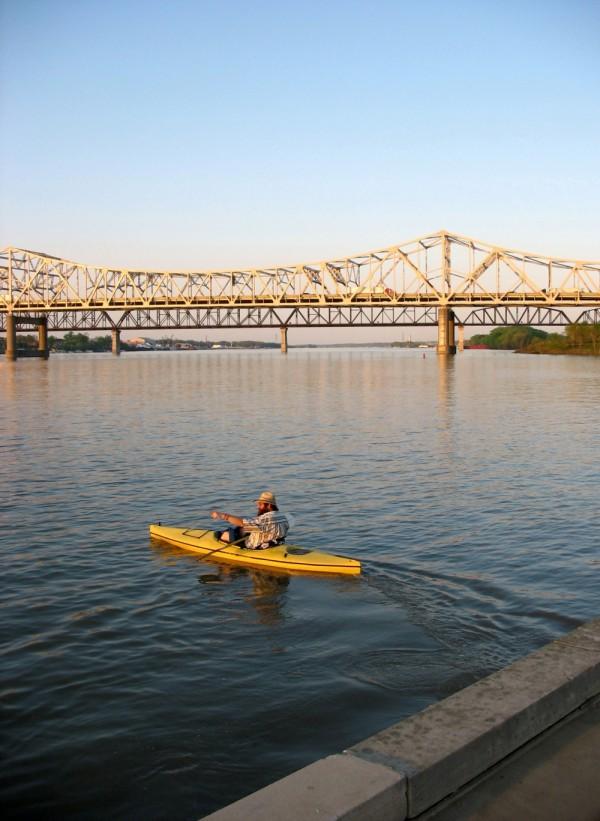 Waterfront Kayaker