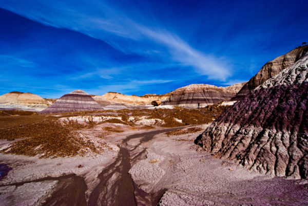Walking on Mars?  No, this is the painted desert