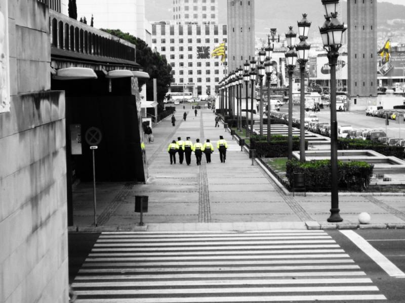 barcelona police!