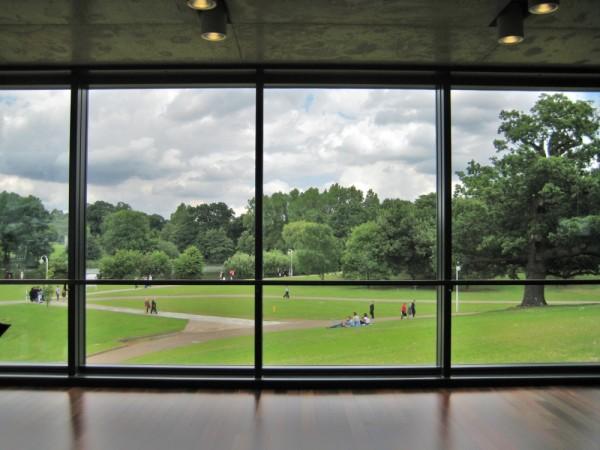 window at essex univercity
