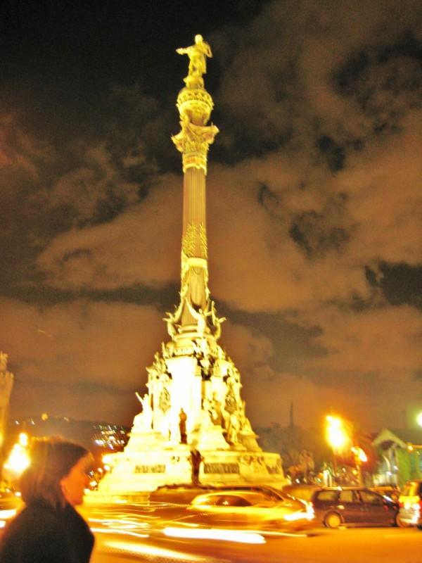 statue of Columbus, Barcelona