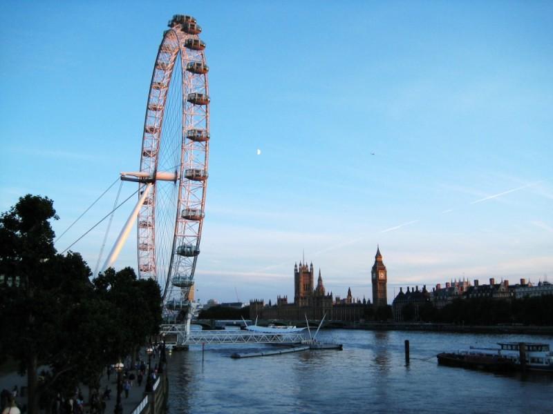 a nice summer day at london..