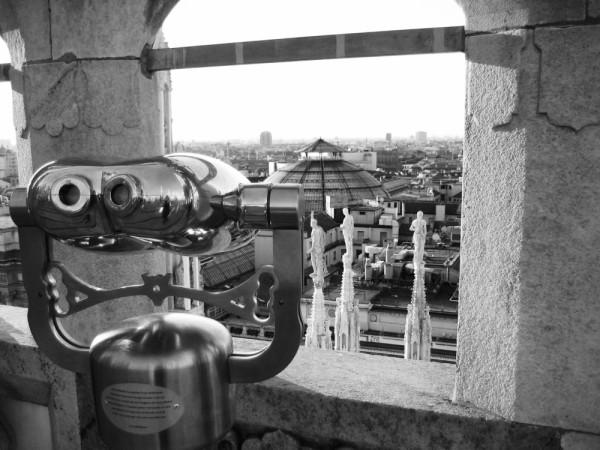 View from Duomo, Milan II