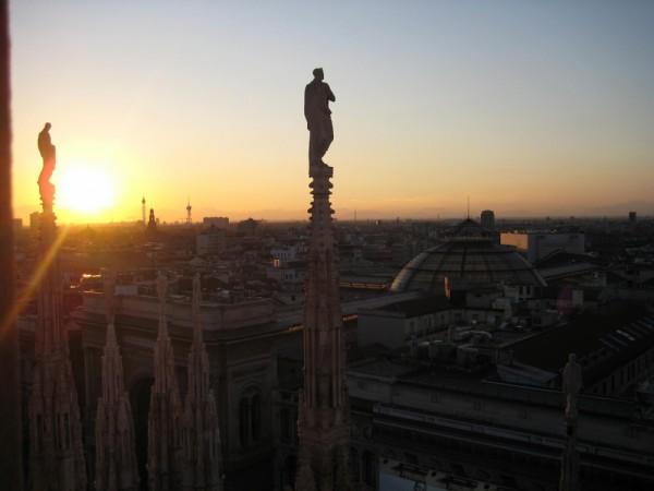 View from Duomo, Milan III