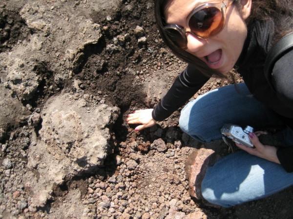 Irene at Mount Etna