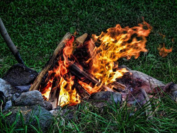 a fire capture
