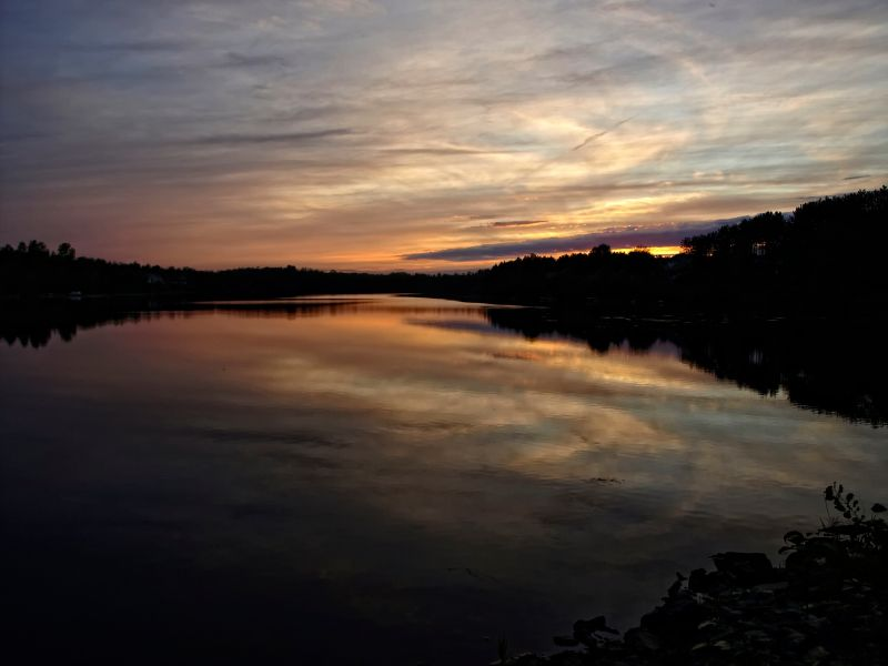 a sunset capture