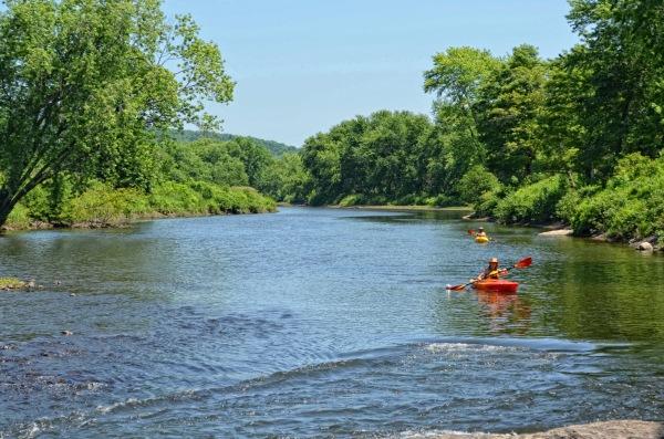 a kayak capture