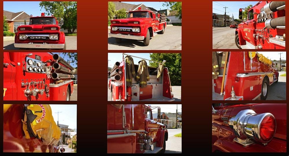 a firetruck capture